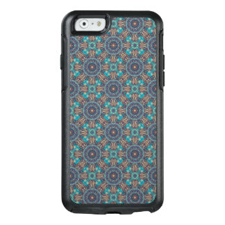 Colorful abstract ethnic floral mandala pattern OtterBox iPhone 6/6s case