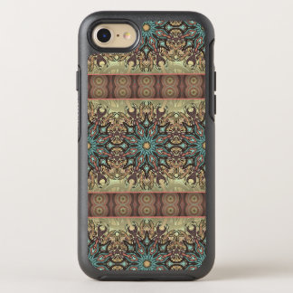 Colorful abstract ethnic floral mandala pattern OtterBox symmetry iPhone 8/7 case