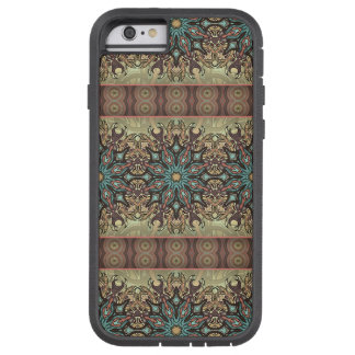 Colorful abstract ethnic floral mandala pattern tough xtreme iPhone 6 case