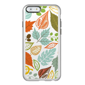 Colorful Abstract Fall Leafs Pattern Incipio Feather® Shine iPhone 6 Case