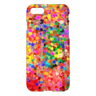 Colorful abstract Flower Case