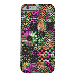Colorful Abstract Flower Pattern Barely There iPhone 6 Case
