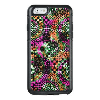 Colorful Abstract Flower Pattern OtterBox iPhone 6/6s Case