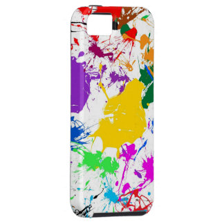 colorful abstract flowers art case for the iPhone 5