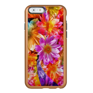 colorful abstract flowers art incipio feather® shine iPhone 6 case