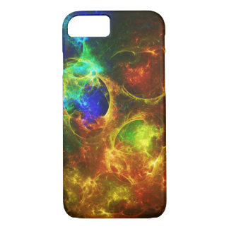 Colorful Abstract Fractal Galaxy iPhone 7 Case