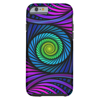 Colorful Abstract Fractal Tough iPhone 6 Cases Tough iPhone 6 Case
