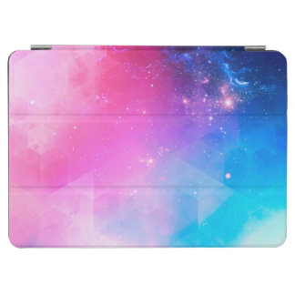 Colorful Abstract Geometric Sky Galaxy iPad Air Cover