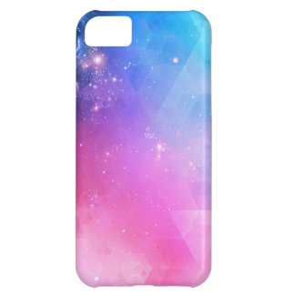 Colorful Abstract Geometric Sky Galaxy iPhone 5C Case