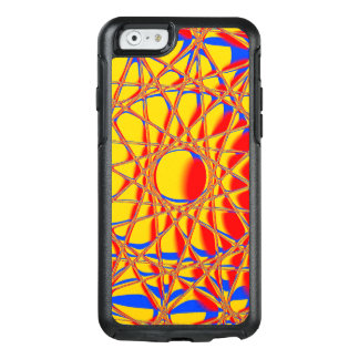 Colorful Abstract Graphic Orange And Blue OtterBox iPhone 6/6s Case