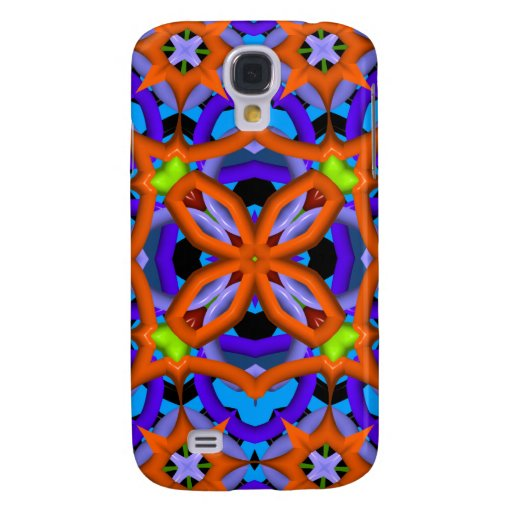Colorful abstract kaleidoscope galaxy s4 case