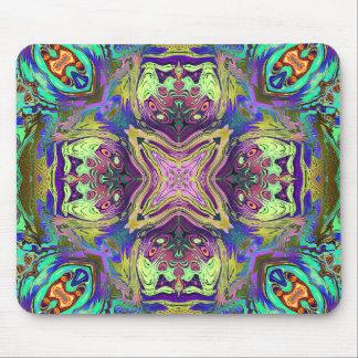 Colorful Abstract Mandala Mouse Pad