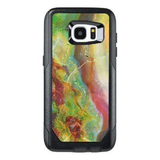 Colorful Abstract Marble Swirls Design 5 OtterBox Samsung Galaxy S7 Edge Case