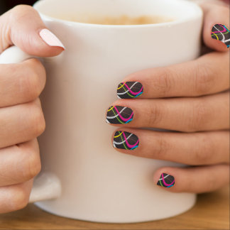 Colorful Abstract Minx ® Nail Wraps