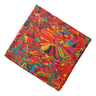 Colorful Abstract Multi Color Background Bandana
