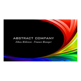 Colorful Abstract Pack Of Standard Business Cards