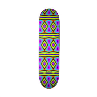 Colorful abstract pattern skateboards