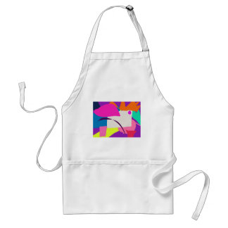 Colorful Abstract Picture Standard Apron