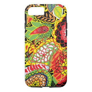 Colorful Abstract Random Floral Collage iPhone 7 Case