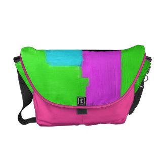 Colorful Abstract Rickshaw Messenger Bag