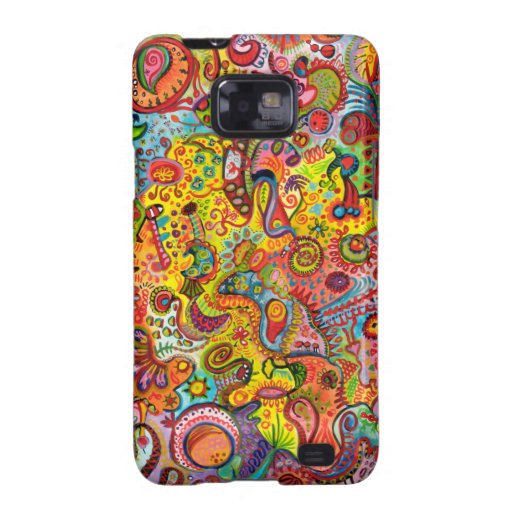 Colorful Abstract Samsung Galaxy S2 Case Funky