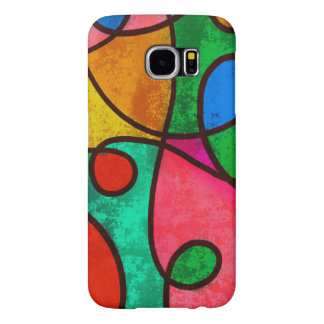 Colorful Abstract Samsung Galaxy S6 Cases