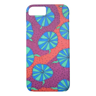 Colorful Abstract Shapes  iPhone Case