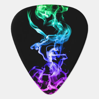 Colorful Abstract Smoke - A Rainbow Plectrum