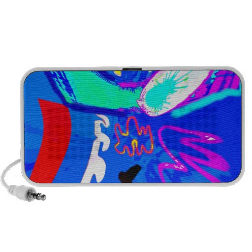 Colorful Abstract Travel Speaker