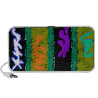 Colorful Abstract iPhone Speaker