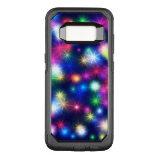 Colorful Abstract Stars OtterBox Commuter Samsung Galaxy S8 Case