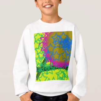 Colorful Abstract Stars Sweatshirt