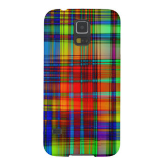 Colorful Abstract Stripes Art Galaxy S5 Cover