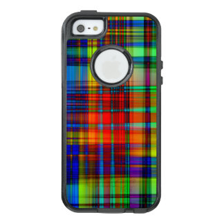 Colorful Abstract Stripes Art OtterBox iPhone 5/5s/SE Case