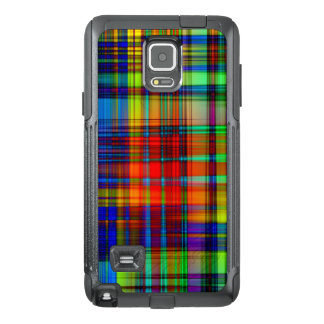 Colorful Abstract Stripes Art OtterBox Samsung Note 4 Case