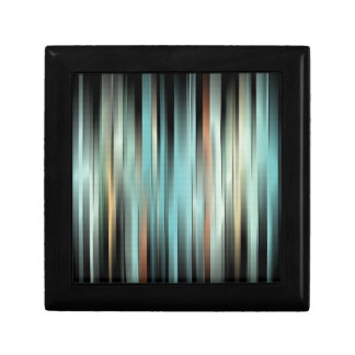 Colorful Abstract Stripes Gift Box
