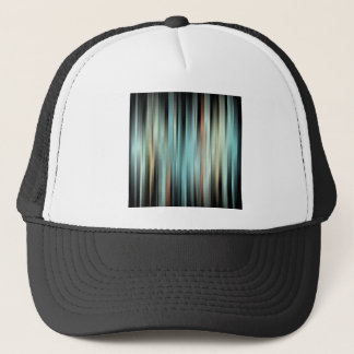 Colorful Abstract Stripes Trucker Hat