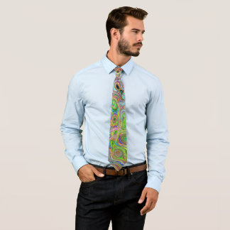 Colorful abstract tie