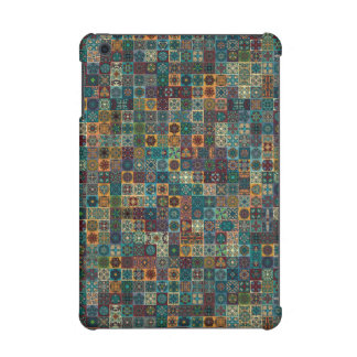 Colorful abstract tile pattern design