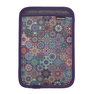 Colorful abstract tile pattern design iPad mini sleeve