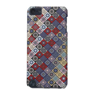Colorful abstract tile pattern design iPod touch 5G covers
