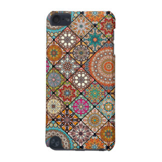 Colorful abstract tile pattern design iPod touch (5th generation) covers