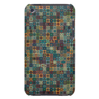 Colorful abstract tile pattern design iPod touch cases