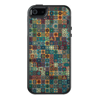 Colorful abstract tile pattern design OtterBox iPhone 5/5s/SE case