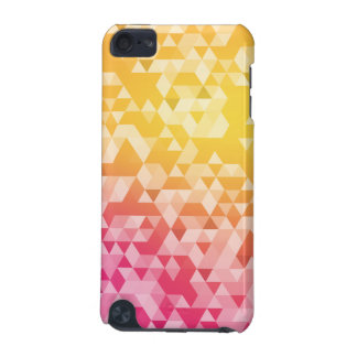 Colorful Abstract Triangle Pattern iPod Touch (5th Generation) Cover