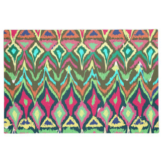 Colorful abstract Tribal Pattern Doormat