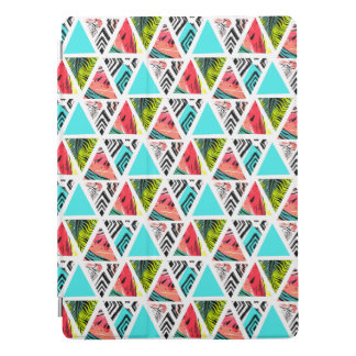 Colorful Abstract Tropical Pattern iPad Pro Cover