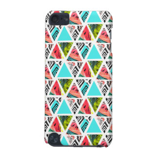 Colorful Abstract Tropical Pattern iPod Touch 5G Cover