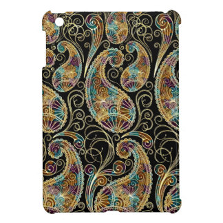 Colorful Abstract Vintage Paisley Pattern iPad Mini Cover