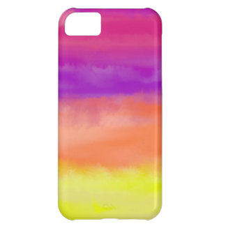 Colorful Abstract Watercolor iPhone iPhone 5C Covers